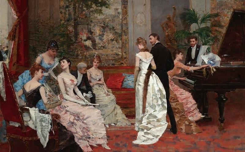 19 века фото салон