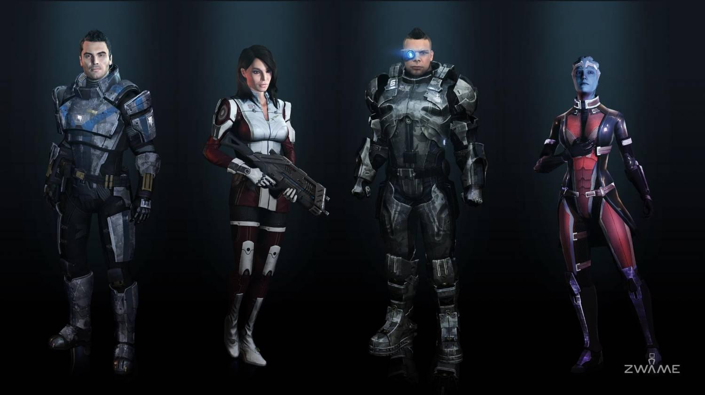 Моды На Оружие Для Mass Effect 0