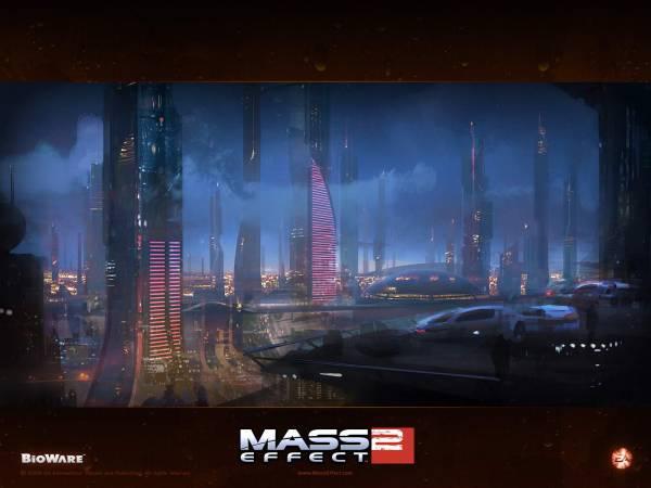 Обои Mass Effect 2: Иллиум