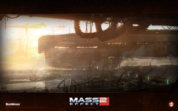 Mass Effect 2 потеряный мир
