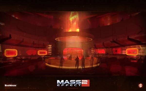 Обои Mass Effect 2: Бар Омега