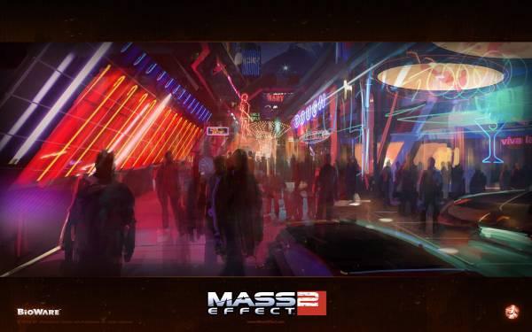 Обои Mass Effect 2: Омега