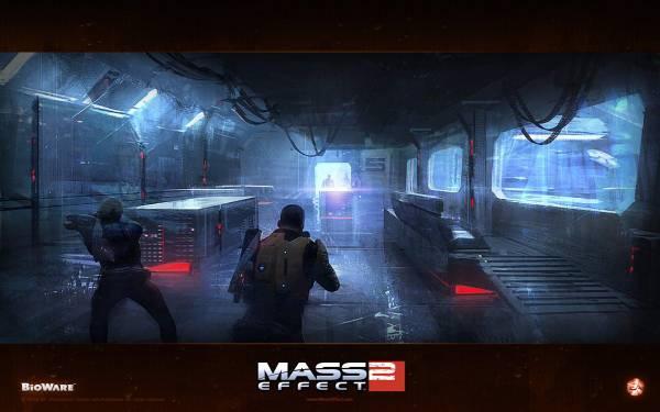 Обои Mass Effect 2: Миссия