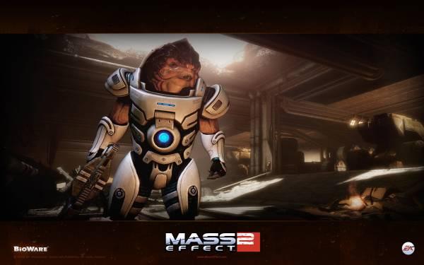 Обои Mass Effect 2: Грюнт