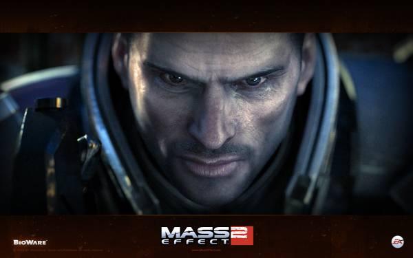 Обои Mass Effect 2: Шепард -2