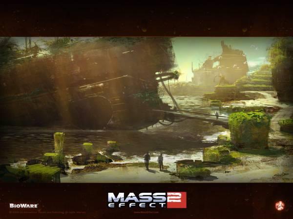Обои Mass Effect 2: Потеряный Мир