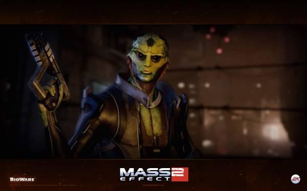 Обои Mass Effect 2: Тейн