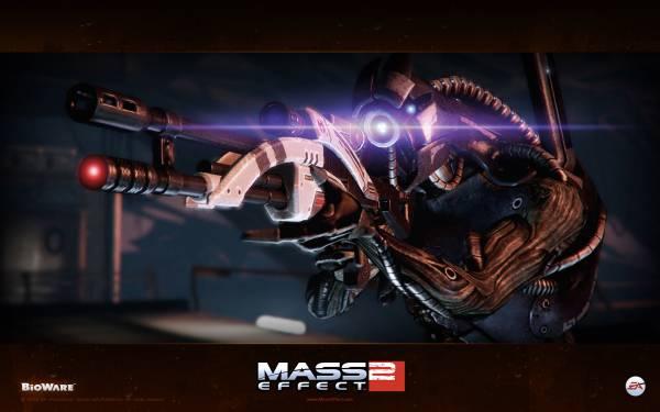 Обои Mass Effect 2: Легион