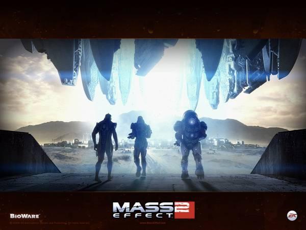 Обои Mass Effect 2: Битва