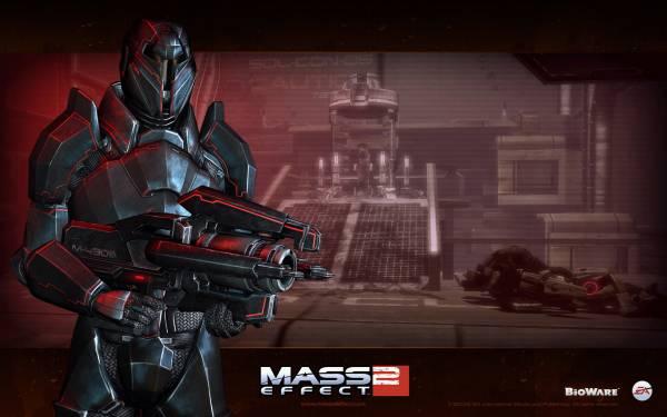 Обои Mass Effect 2: коллекционное издание