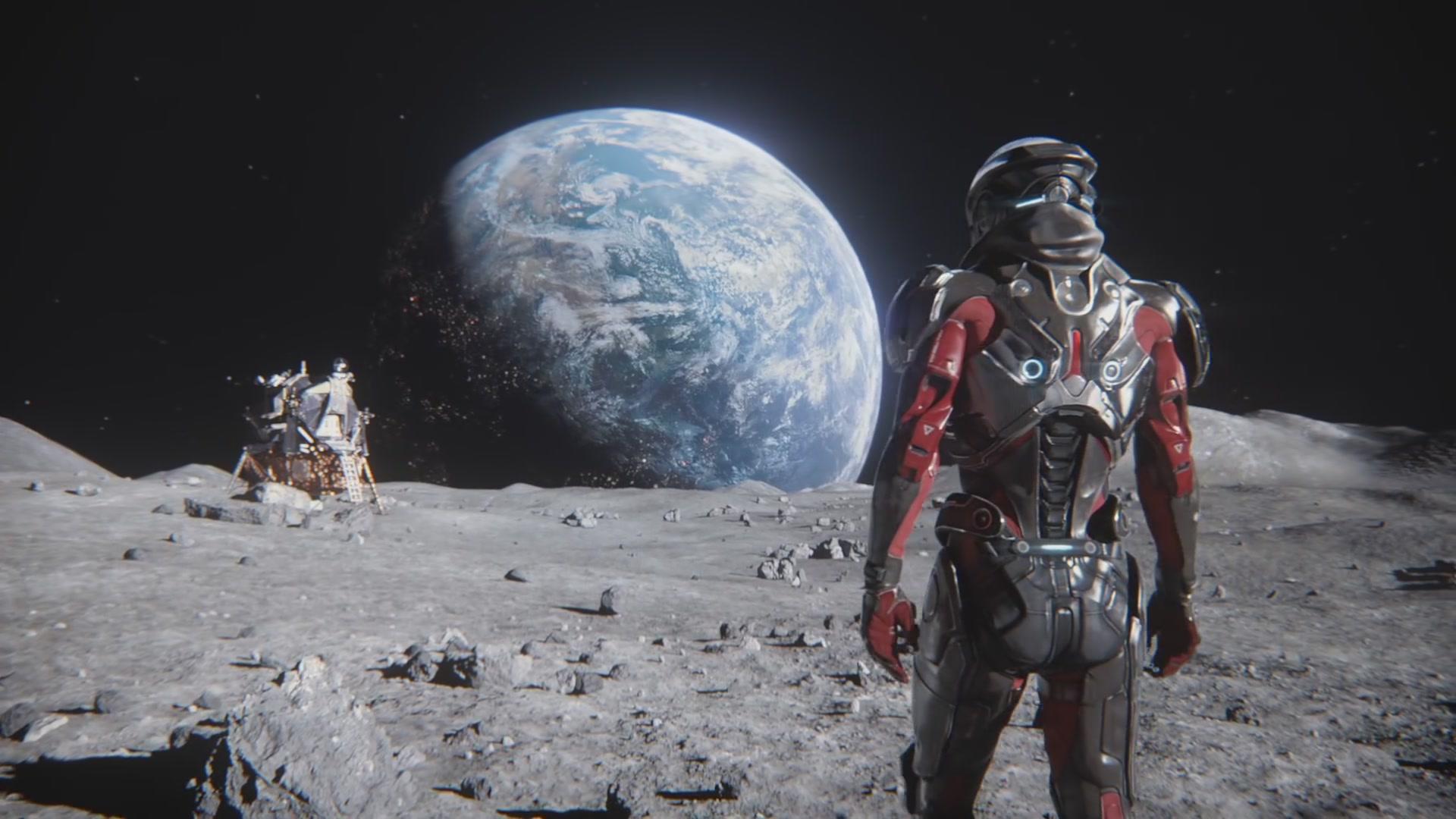 Алек Райдер в инструктаже Andromeda Initiative