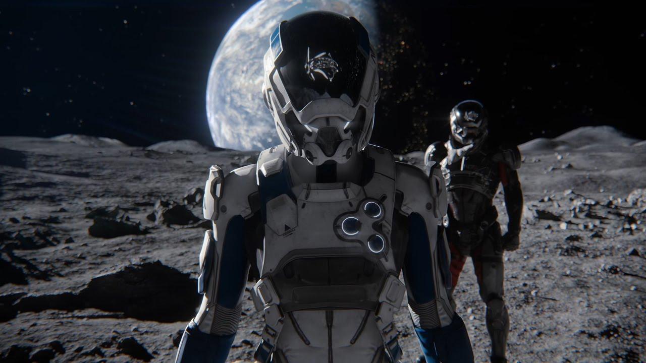Джиен Гарсон в инструктаже Andromeda Initiative