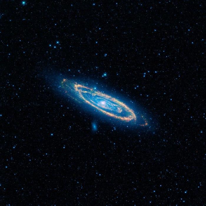 Андромеда и Млечный путь