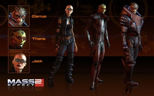новый мод Mass Effect 2