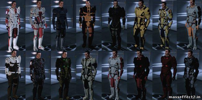 Mass Effect 2 Костюмы Для Шепарда Скачать