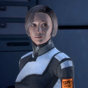 Доктор Чаквас в Mass Effect